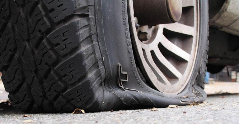 Can I scrap a car with flat tires?